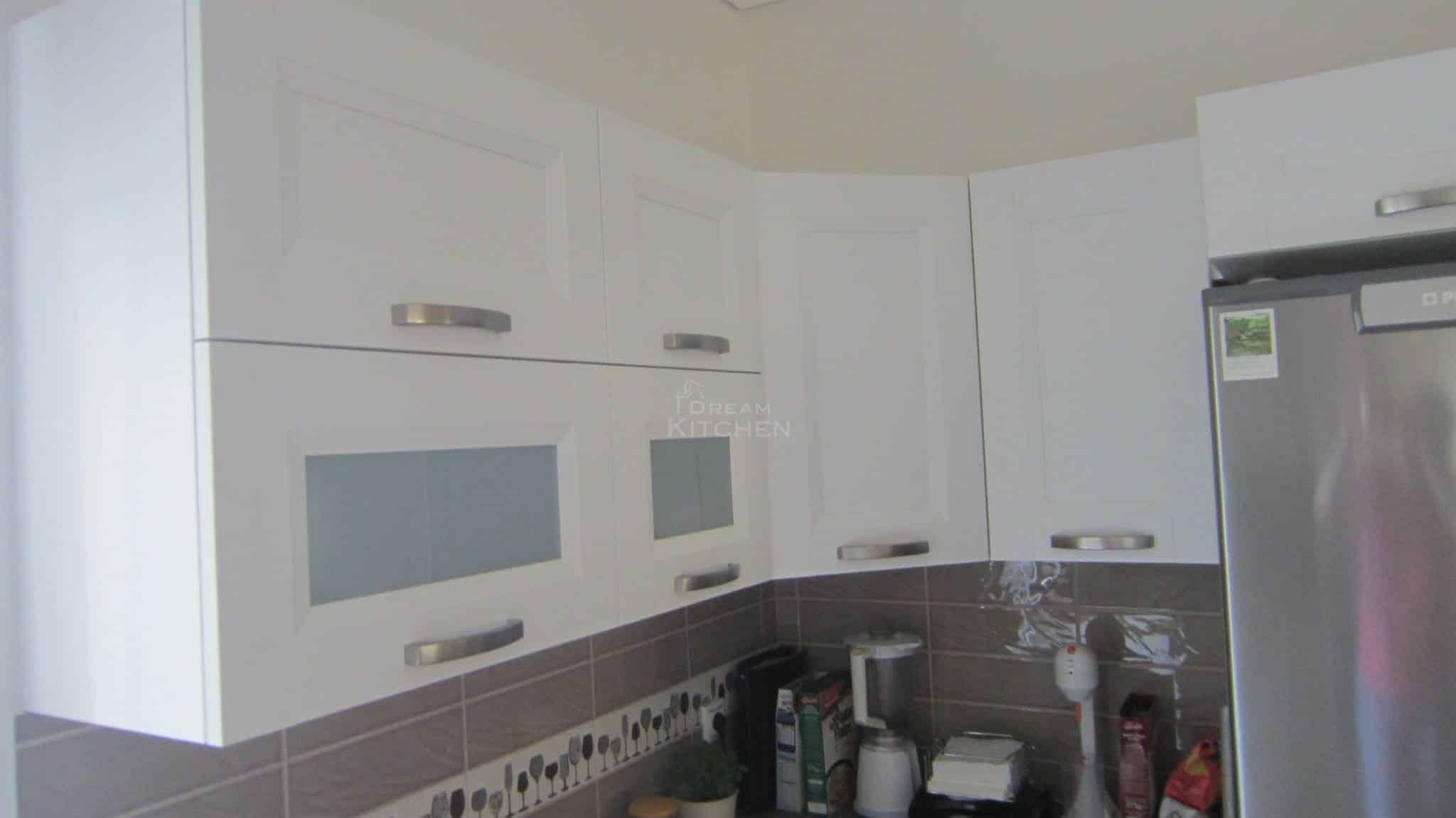 Κουζινα Πολυμερικο σε λευκο χρωματισμο 14