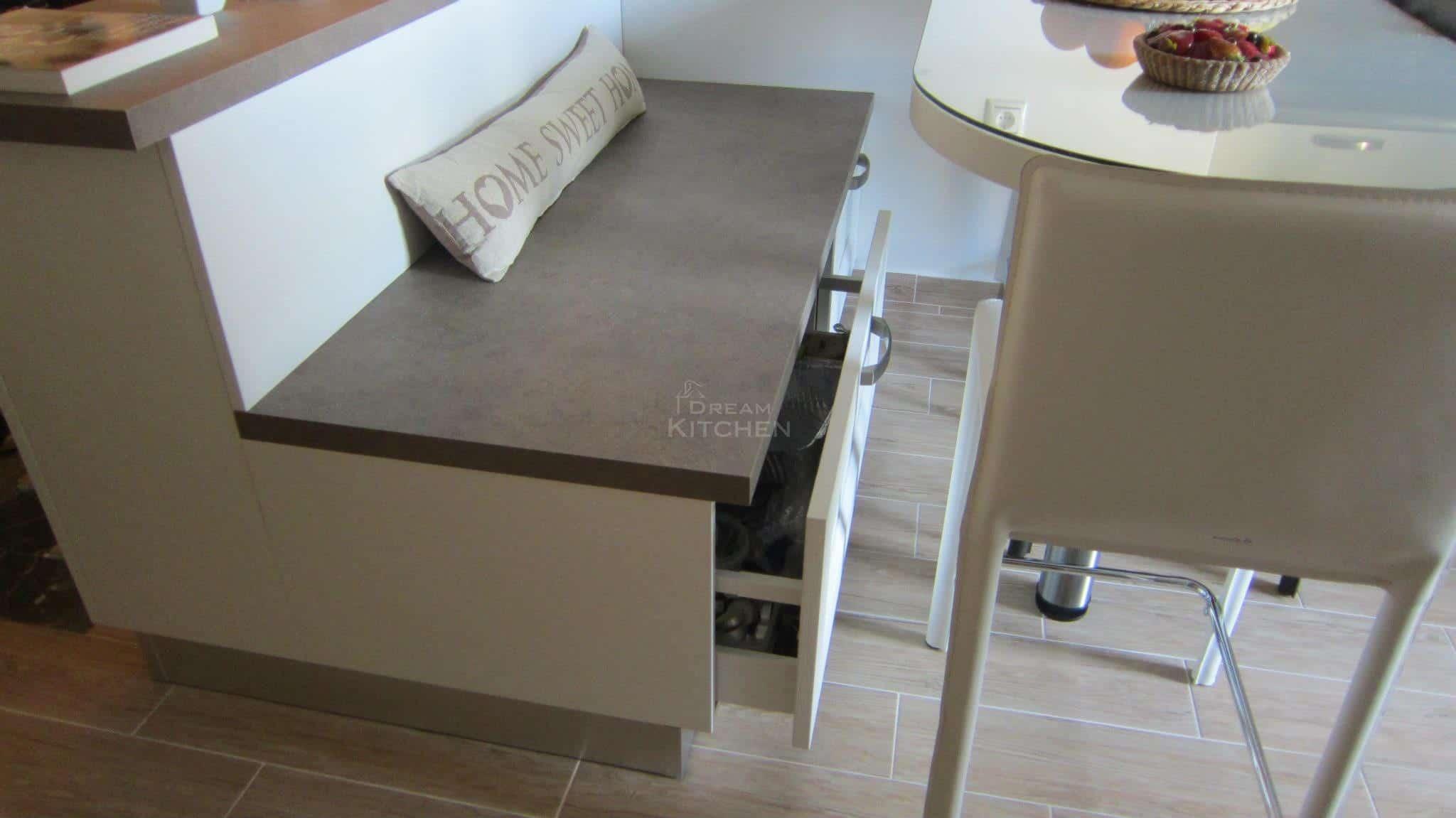 Κουζινα Πολυμερικο σε λευκο χρωματισμο 17