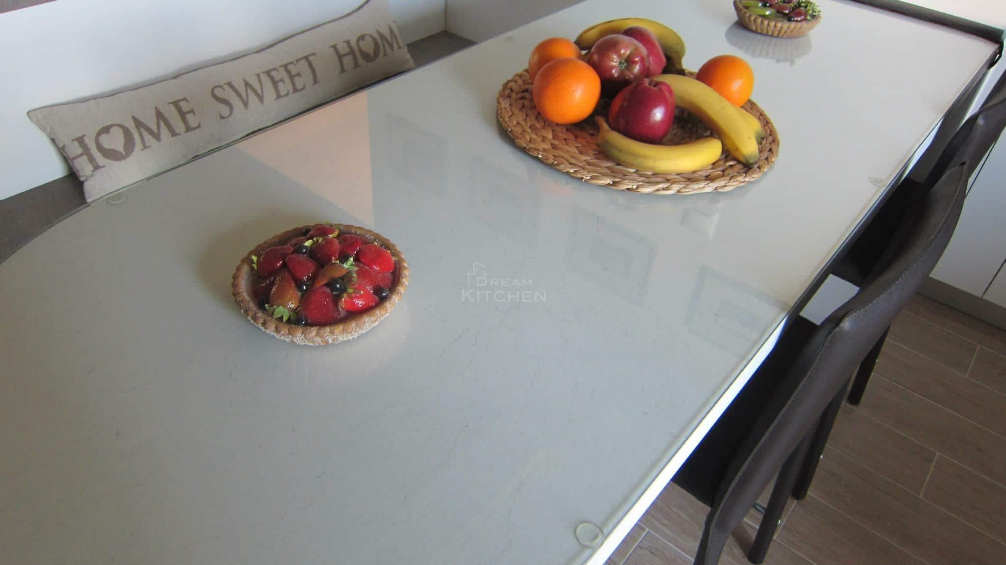 Κουζινα Πολυμερικο σε λευκο χρωματισμο 19