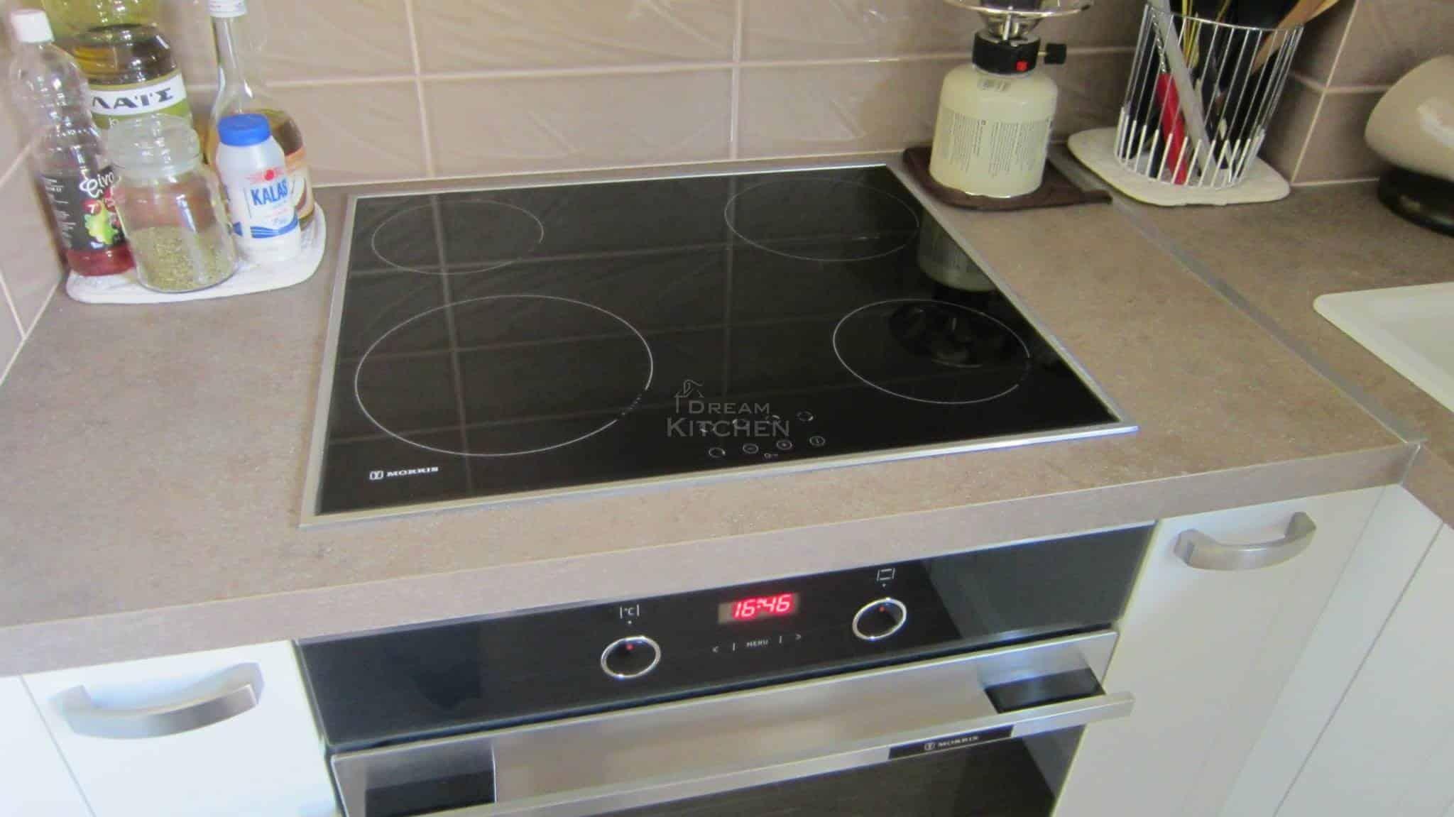 Κουζινα Πολυμερικο σε λευκο χρωματισμο 21