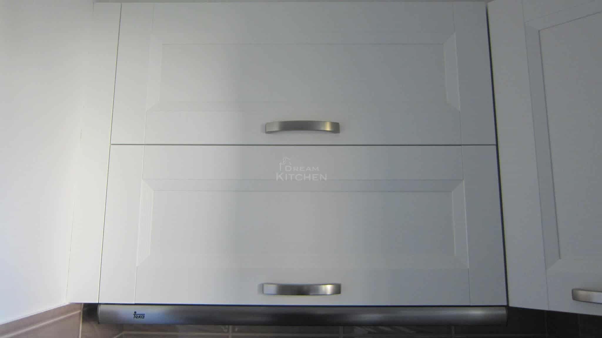 Κουζινα Πολυμερικο σε λευκο χρωματισμο 25
