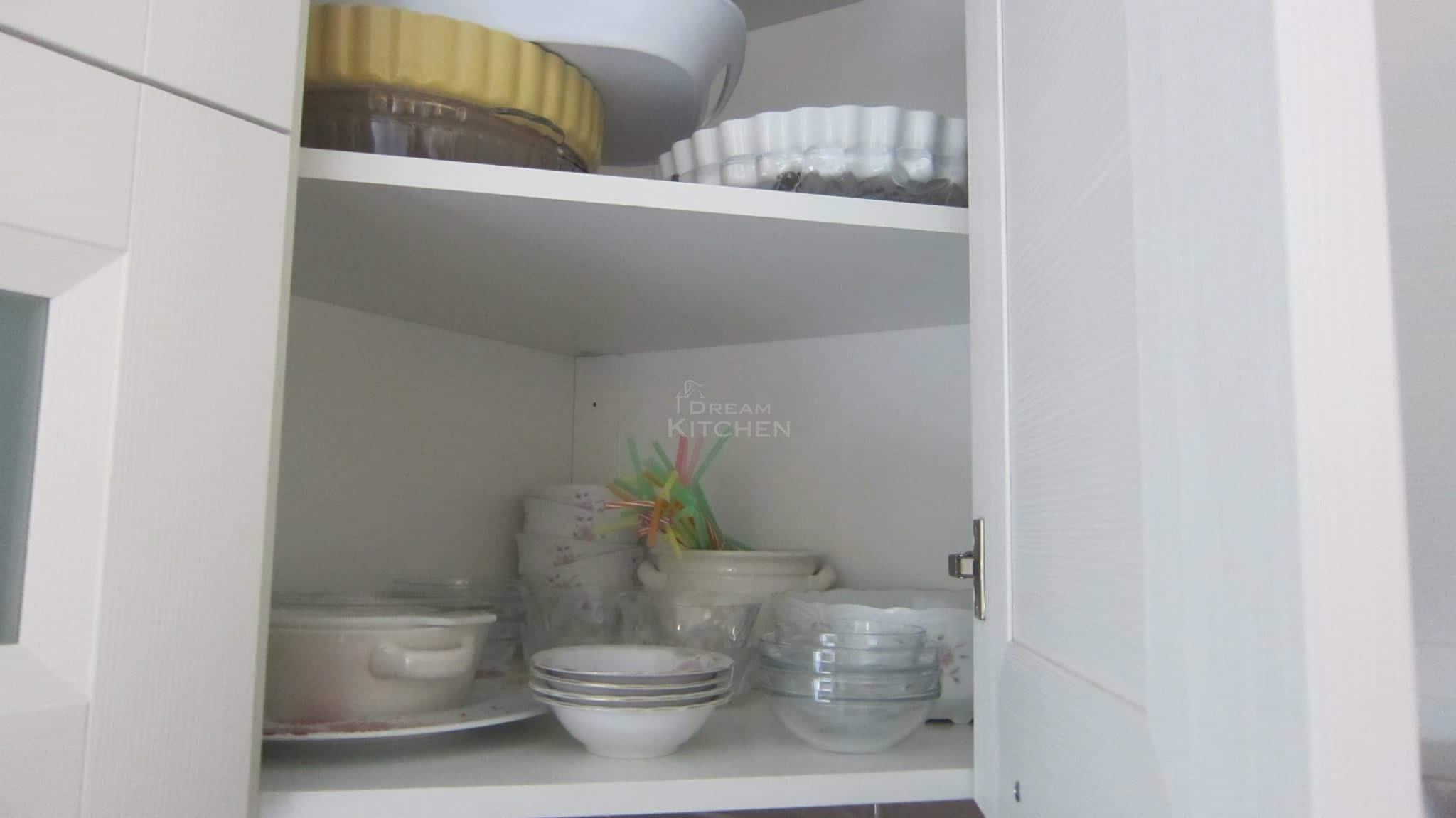 Κουζινα Πολυμερικο σε λευκο χρωματισμο 30