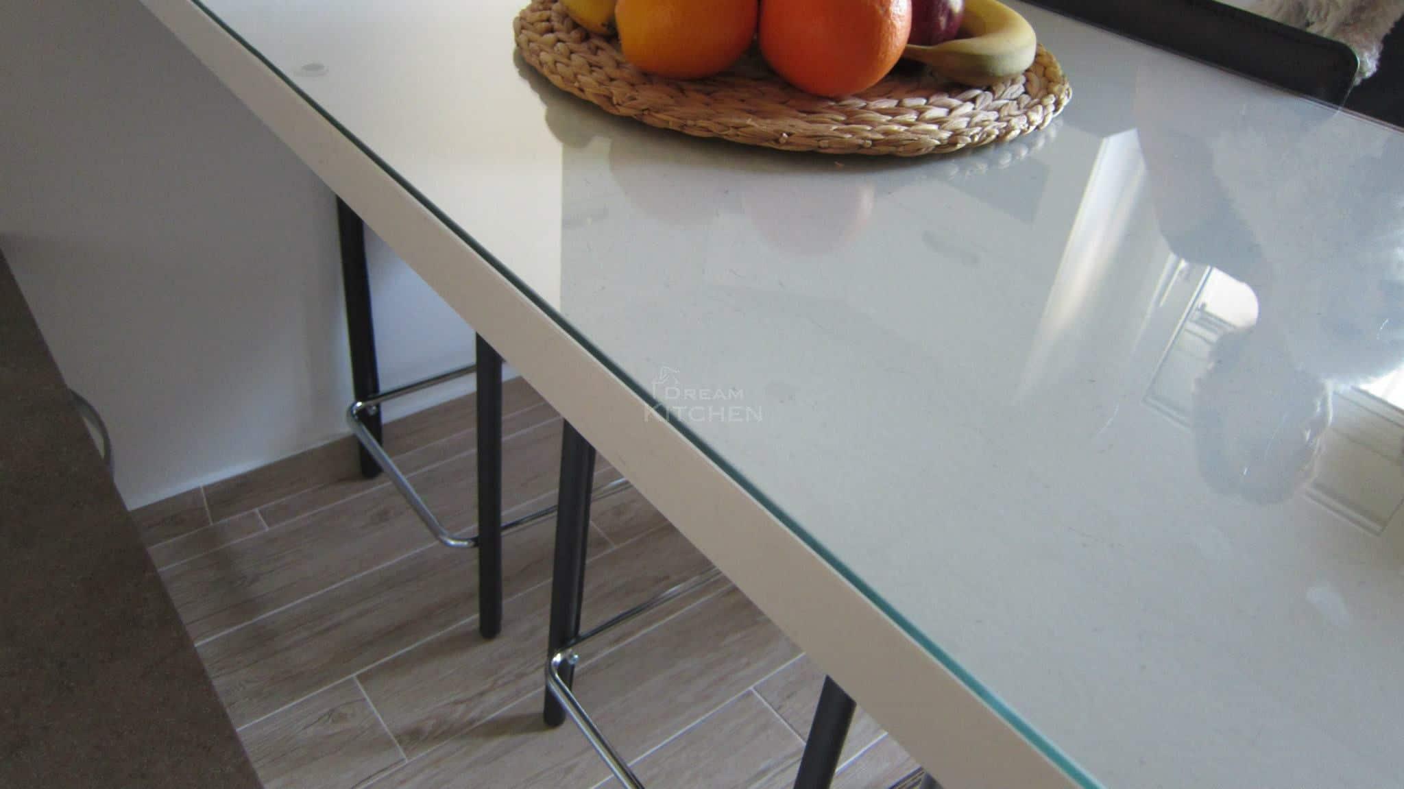 Κουζινα Πολυμερικο σε λευκο χρωματισμο 34