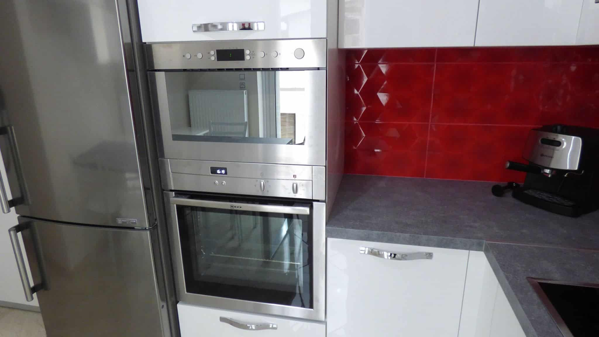 Επιπλα Κουζινας Λευκη Λακα 22mm 10