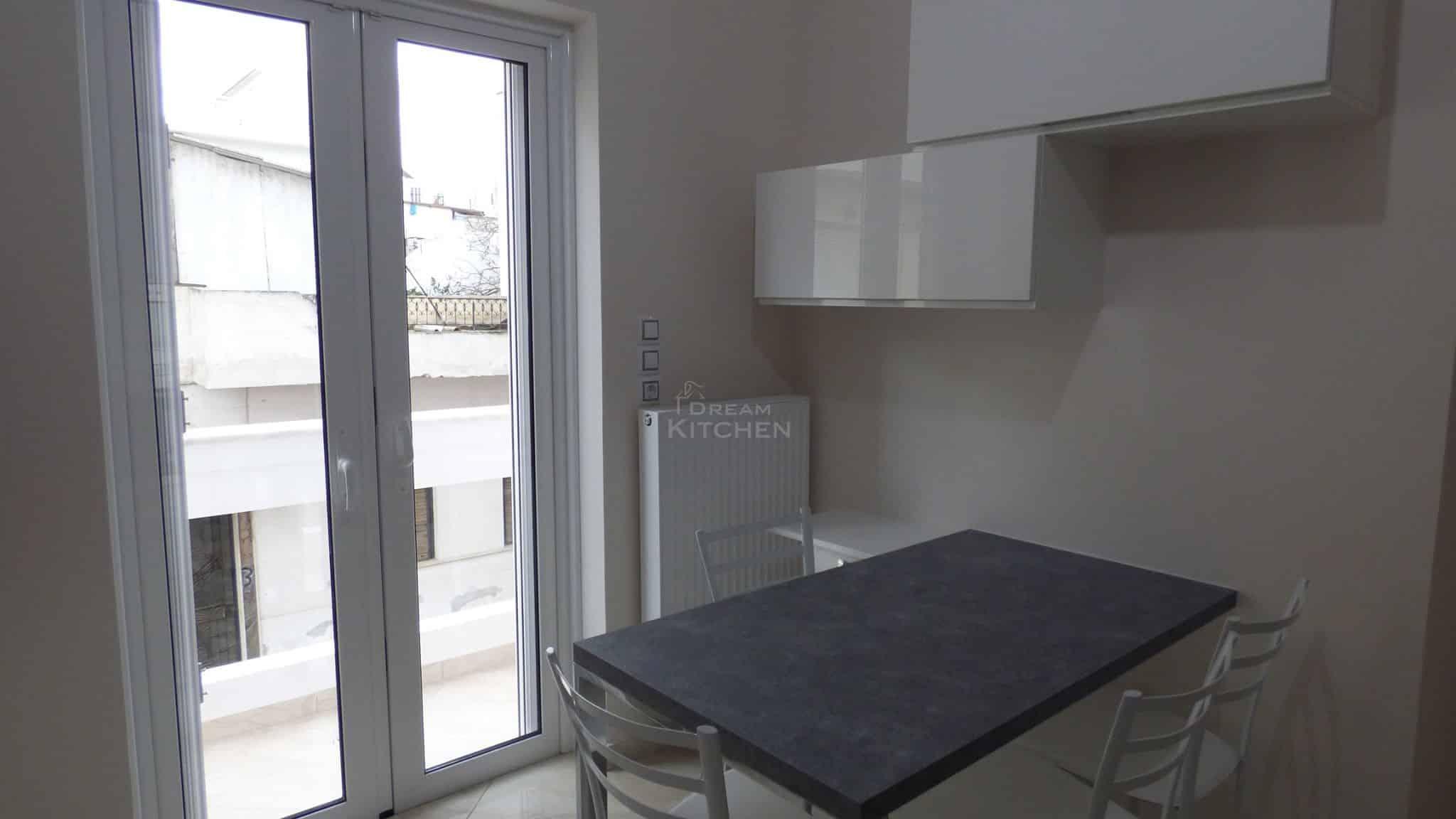 Επιπλα Κουζινας Λευκη Λακα 22mm 14