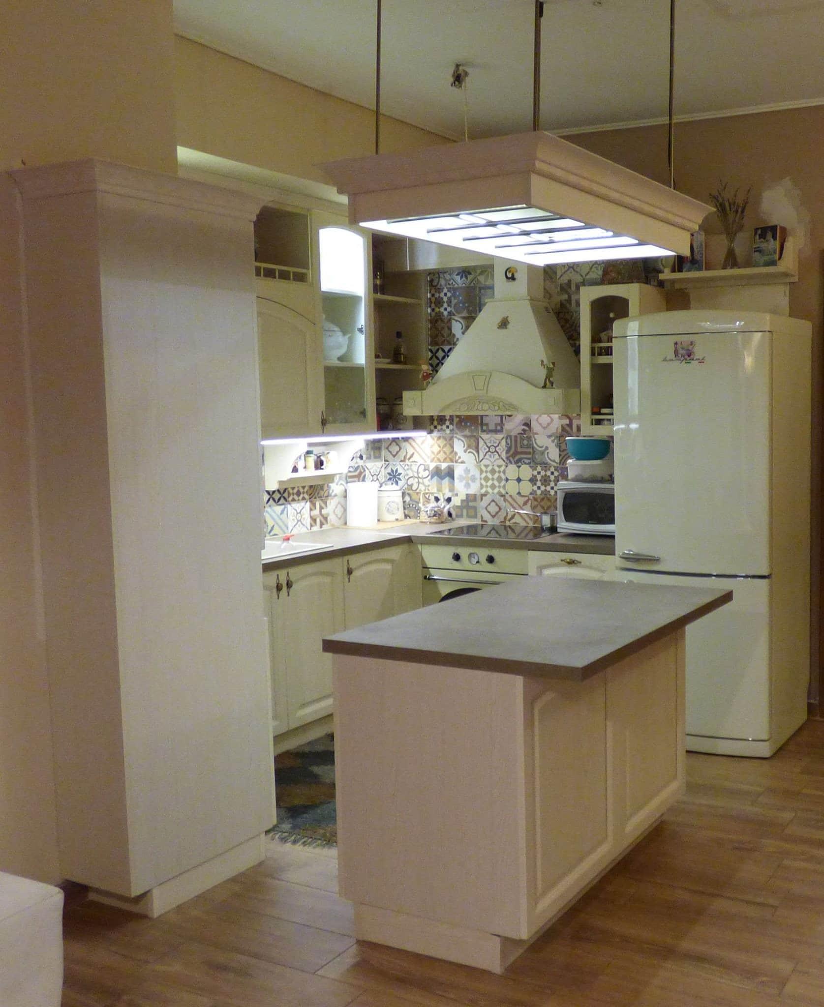 Κουζινα Ημιμασιφ Decape 18