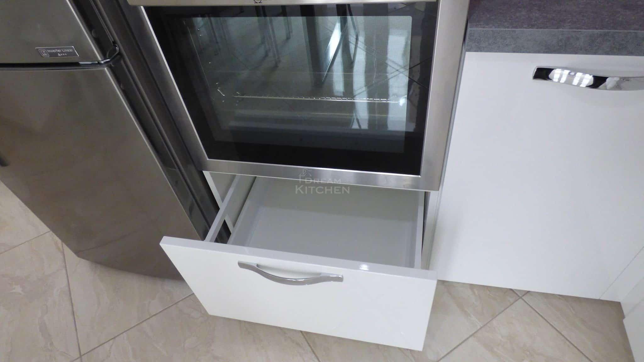 Επιπλα Κουζινας Λευκη Λακα 22mm 22