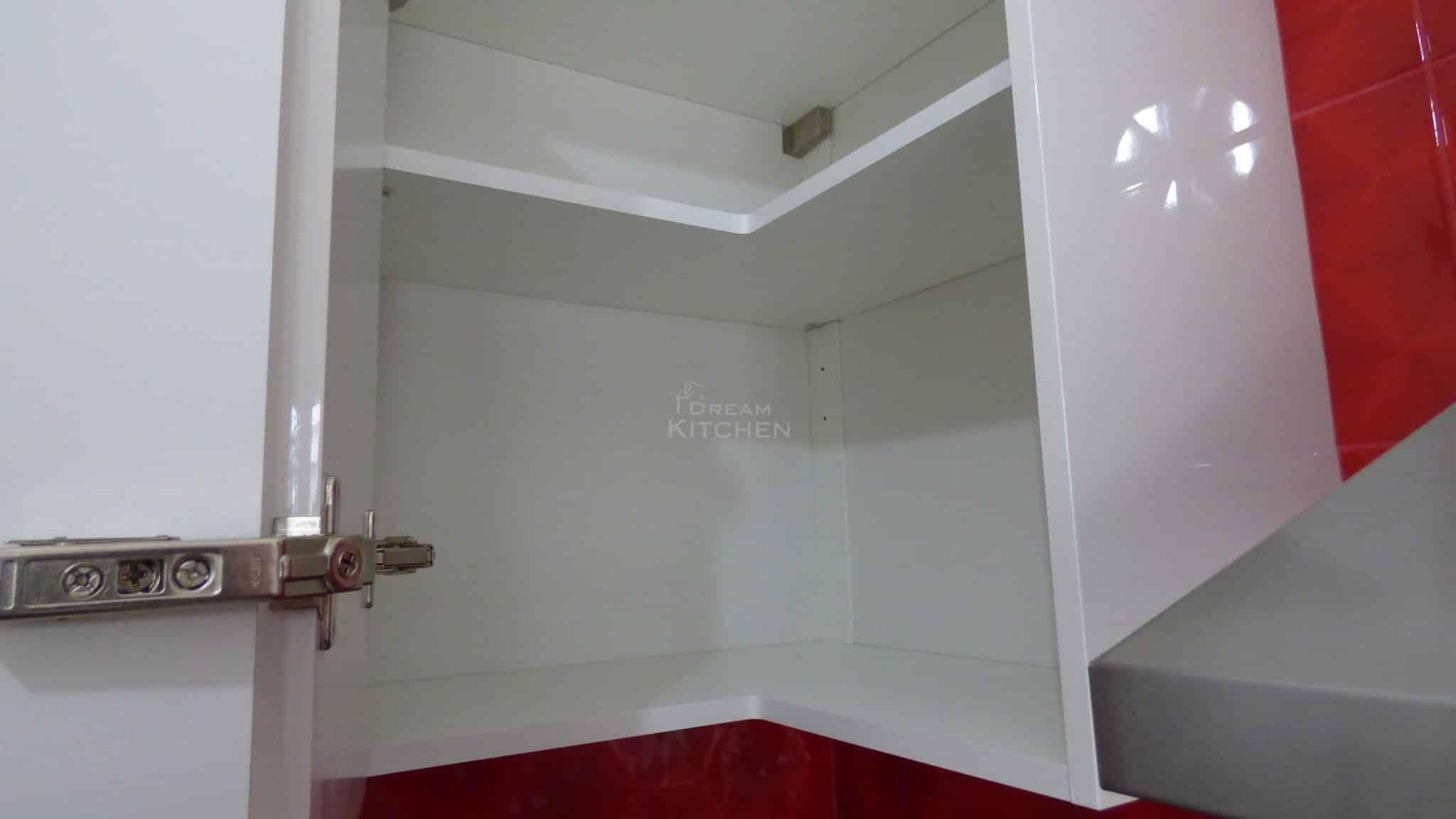 Επιπλα Κουζινας Λευκη Λακα 22mm 23