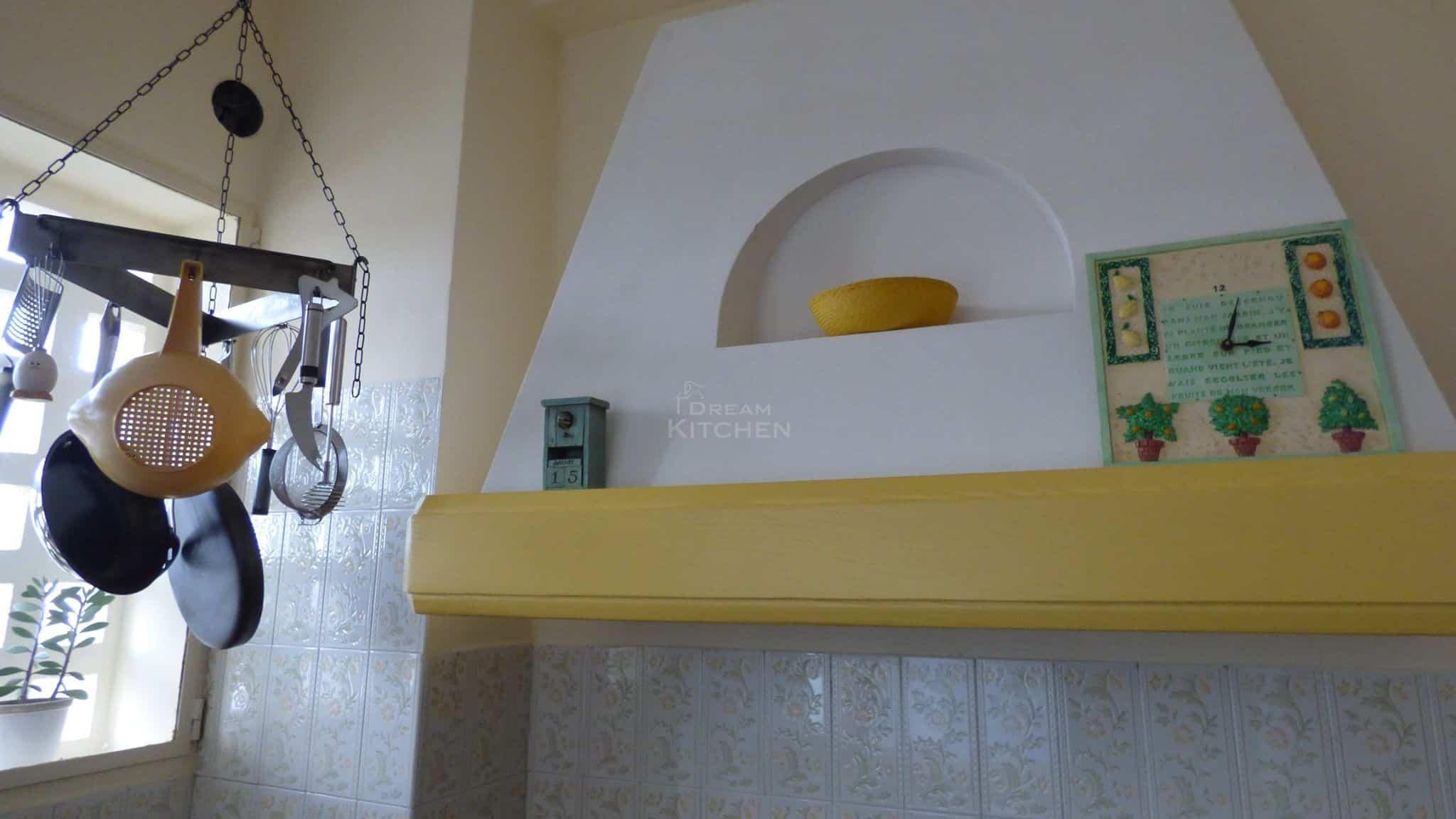 Κουζινα Τσιμεντενια με Μασιφ Παγκο 29