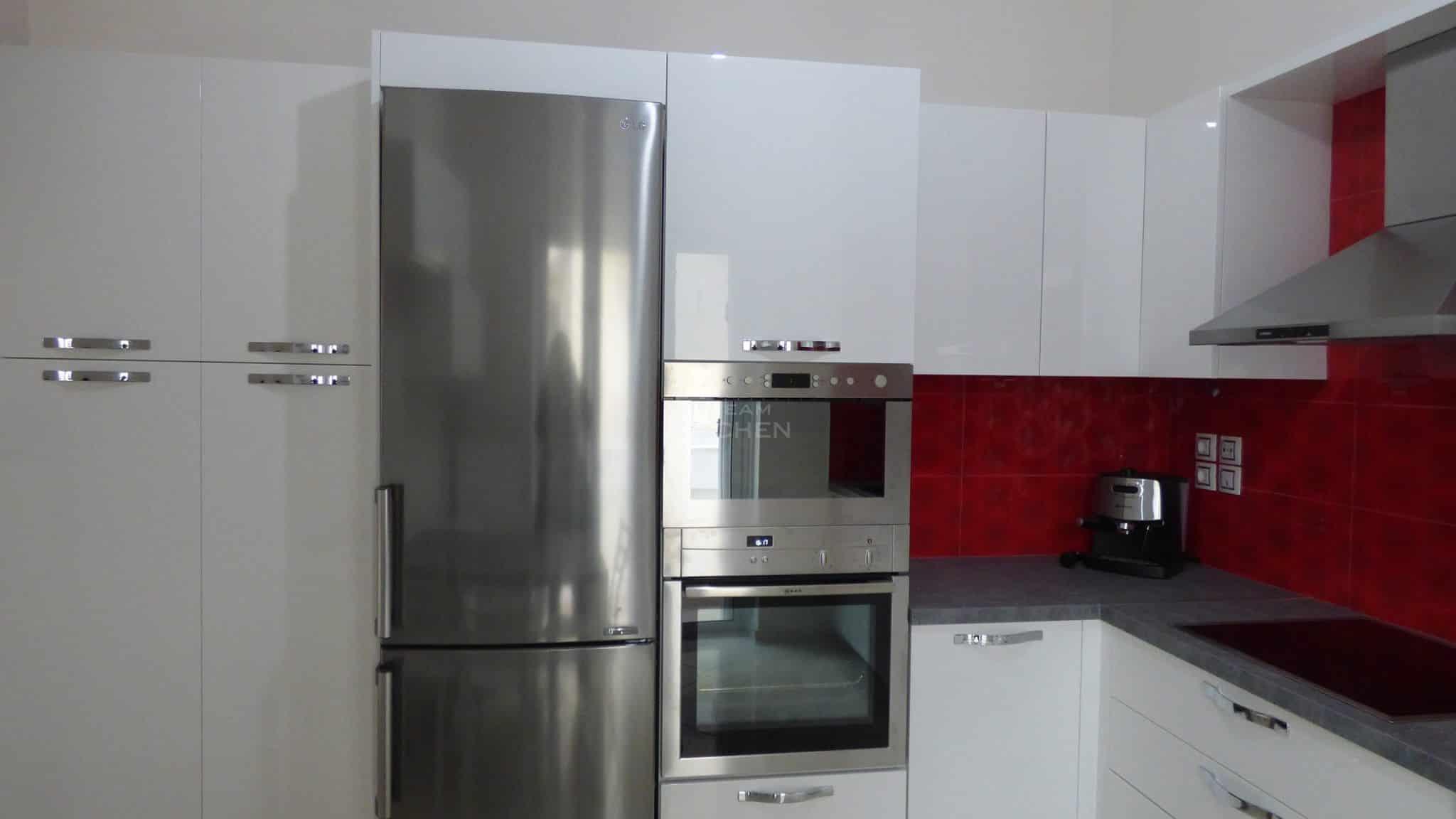 Επιπλα Κουζινας Λευκη Λακα 22mm 3