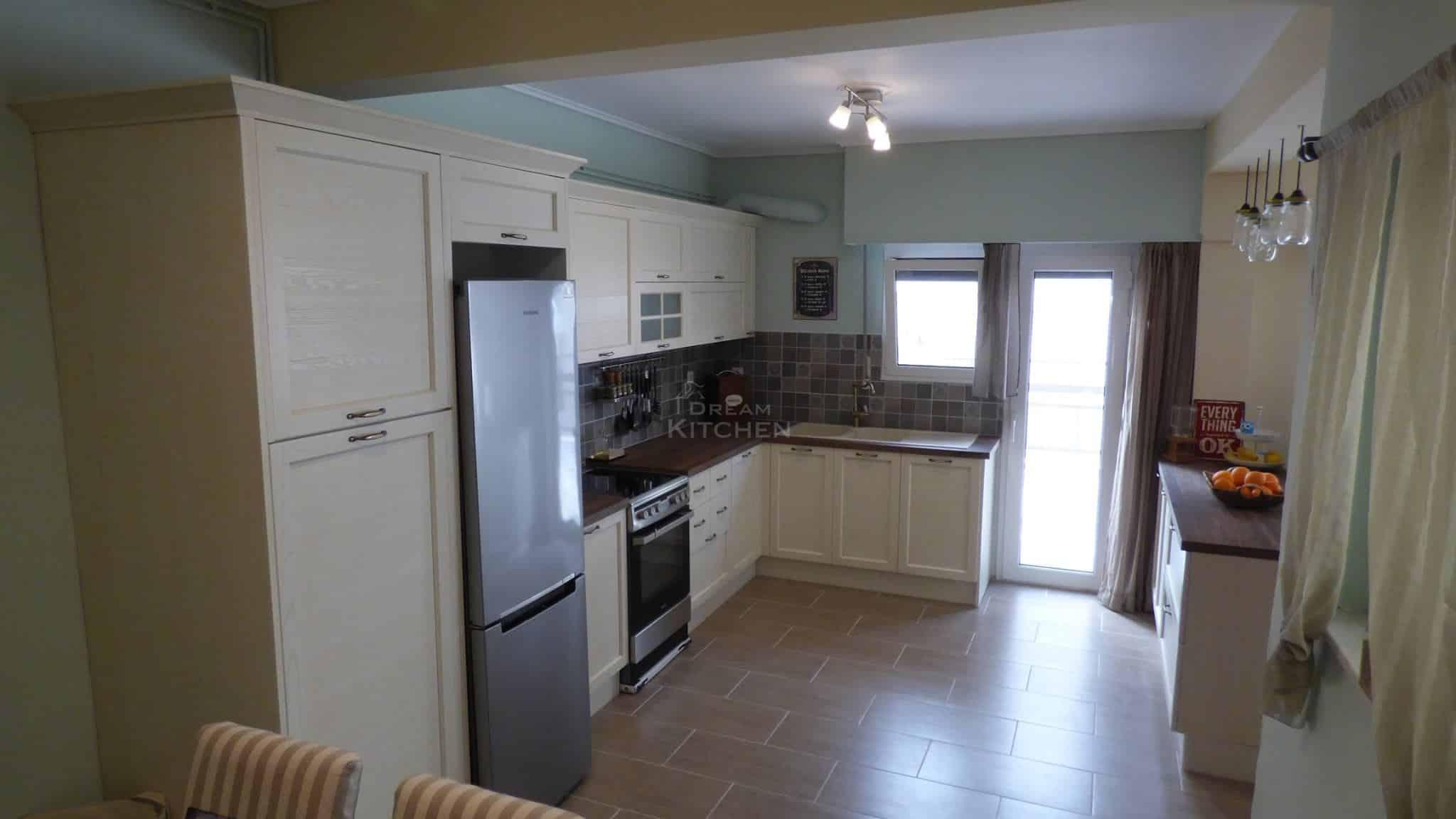 Κουζίνα Ημιμασίφ Dover 33