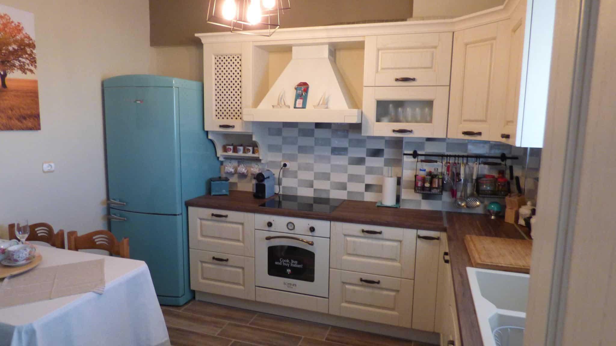 Ανακαίνιση Κουζίνας Αγ.Δημήτριος Επιπλα Κουζινας μασίφ πορτάκι Μοντέλο Olivia 6