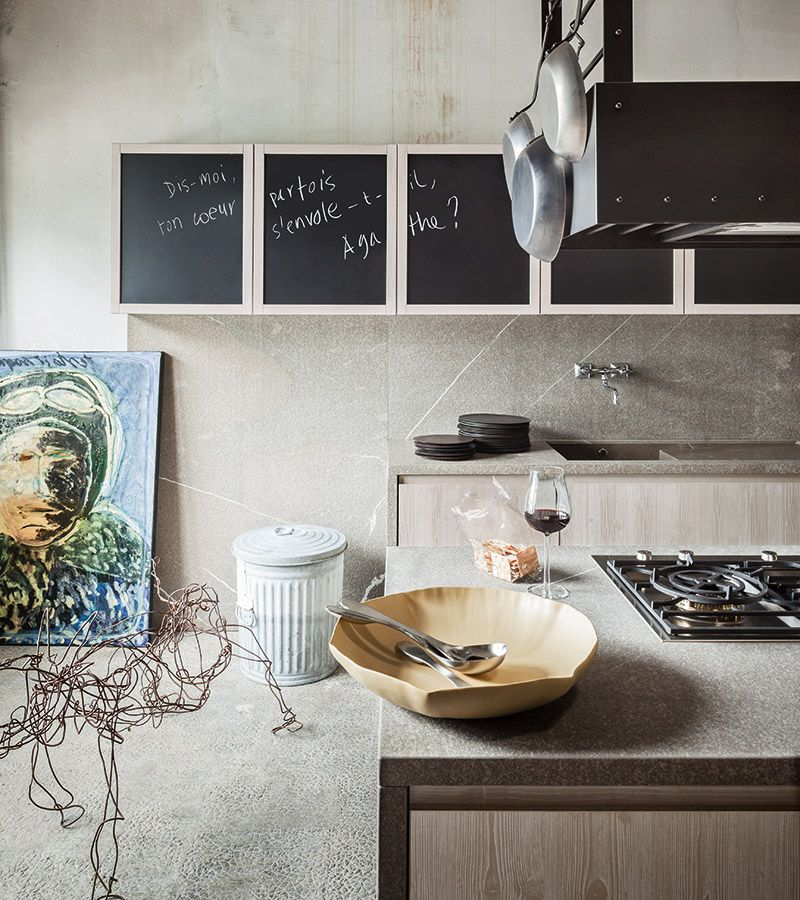 μασίφ κουζίνα fly λευκό ντεκαπέ