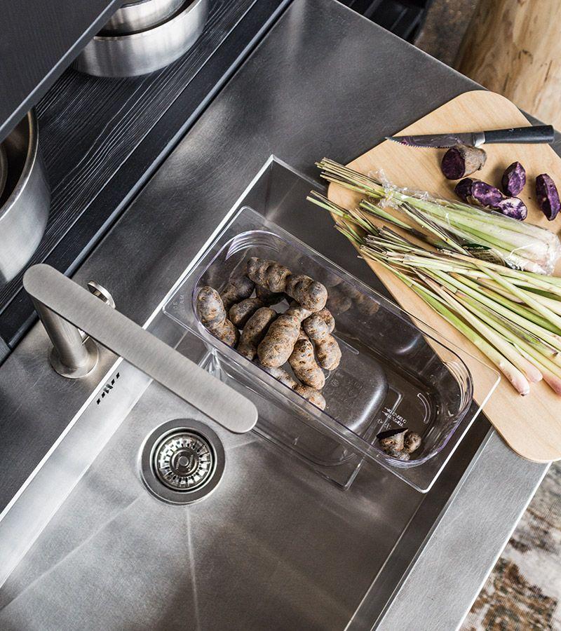 μασίφ κουζίνα fly φυσικό σκούρο δρυς