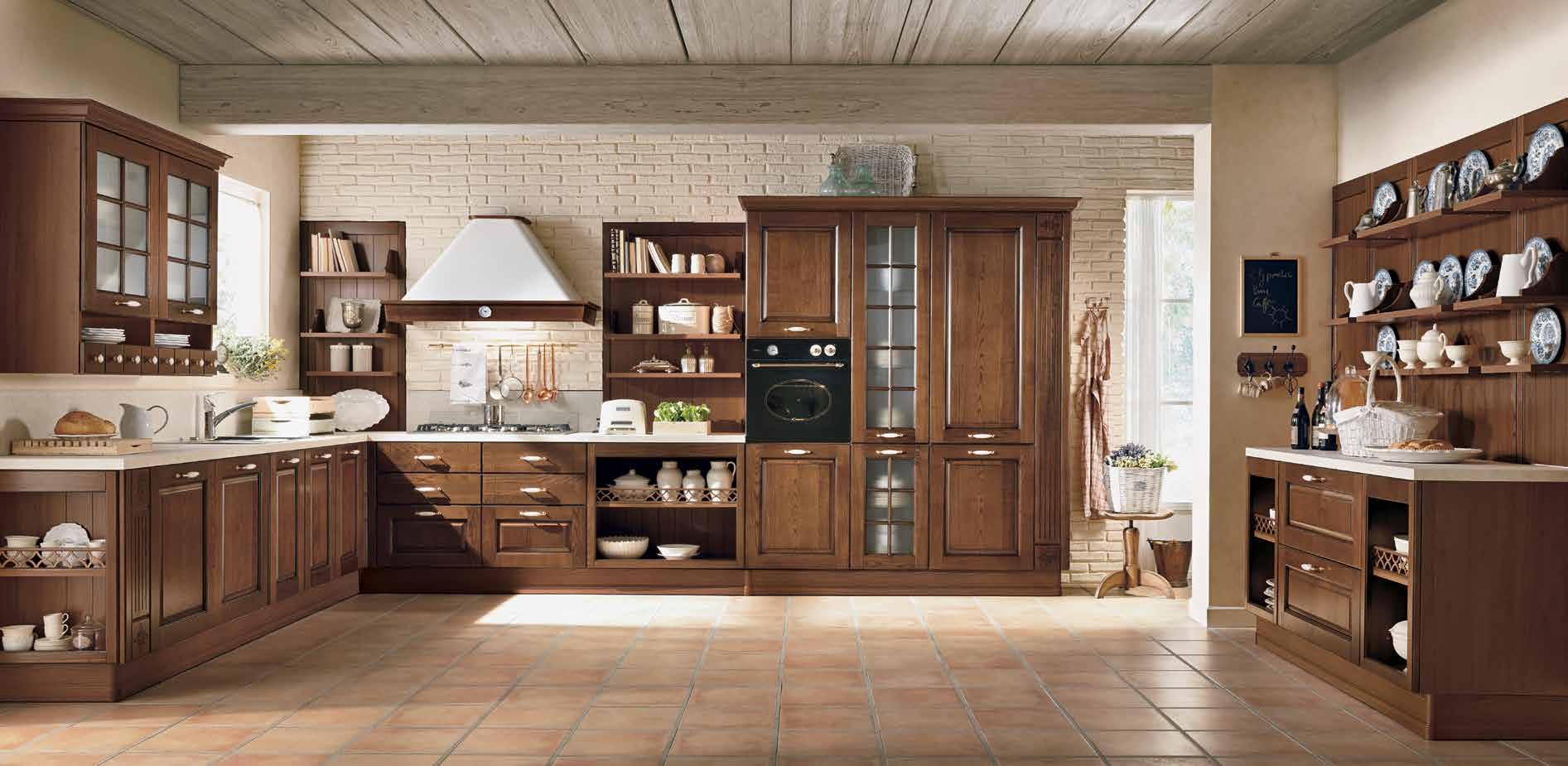 Armonia μασιφ κουζινα με απορροφητηρα καμιναδα λεπτομερειες