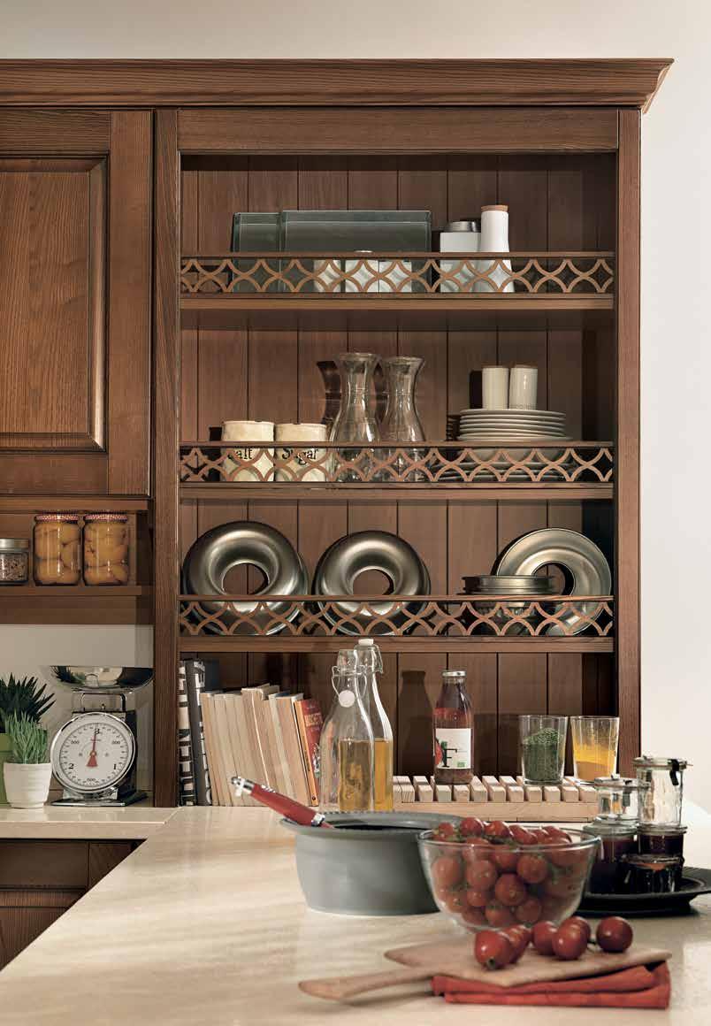 Armonia μασιφ κουζινα με πάσο λεπτομερειες