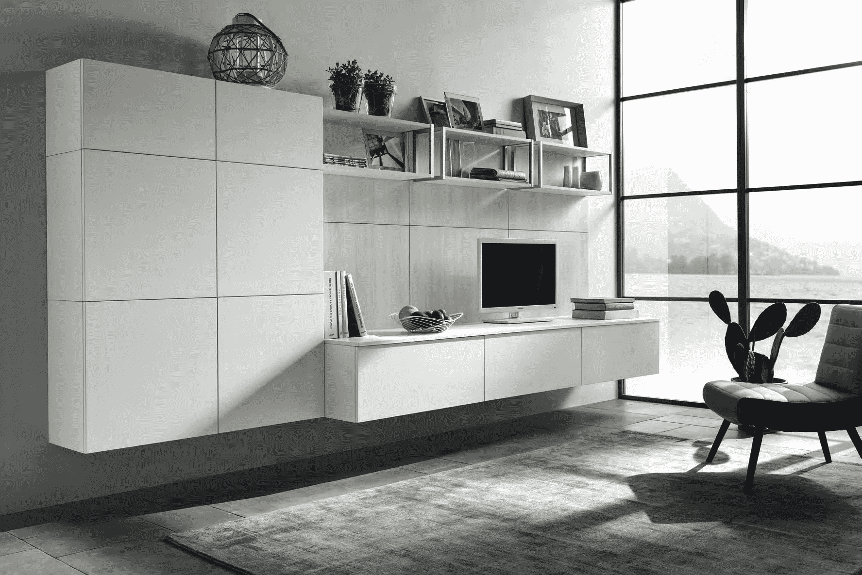 Essenza κουζινα καπλαμα σε λευκο χρωματισμο λεπτομερειες
