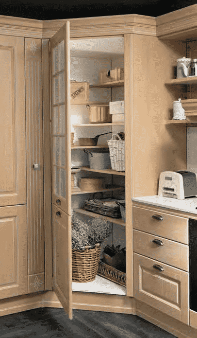 Opera Μασιφ κουζινα σε φυσικό χρωματισμο