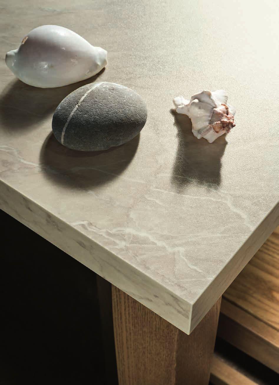 καρυδια ξυλο χρωματισμο και λευκο με παγκο υφη μαρμαρου