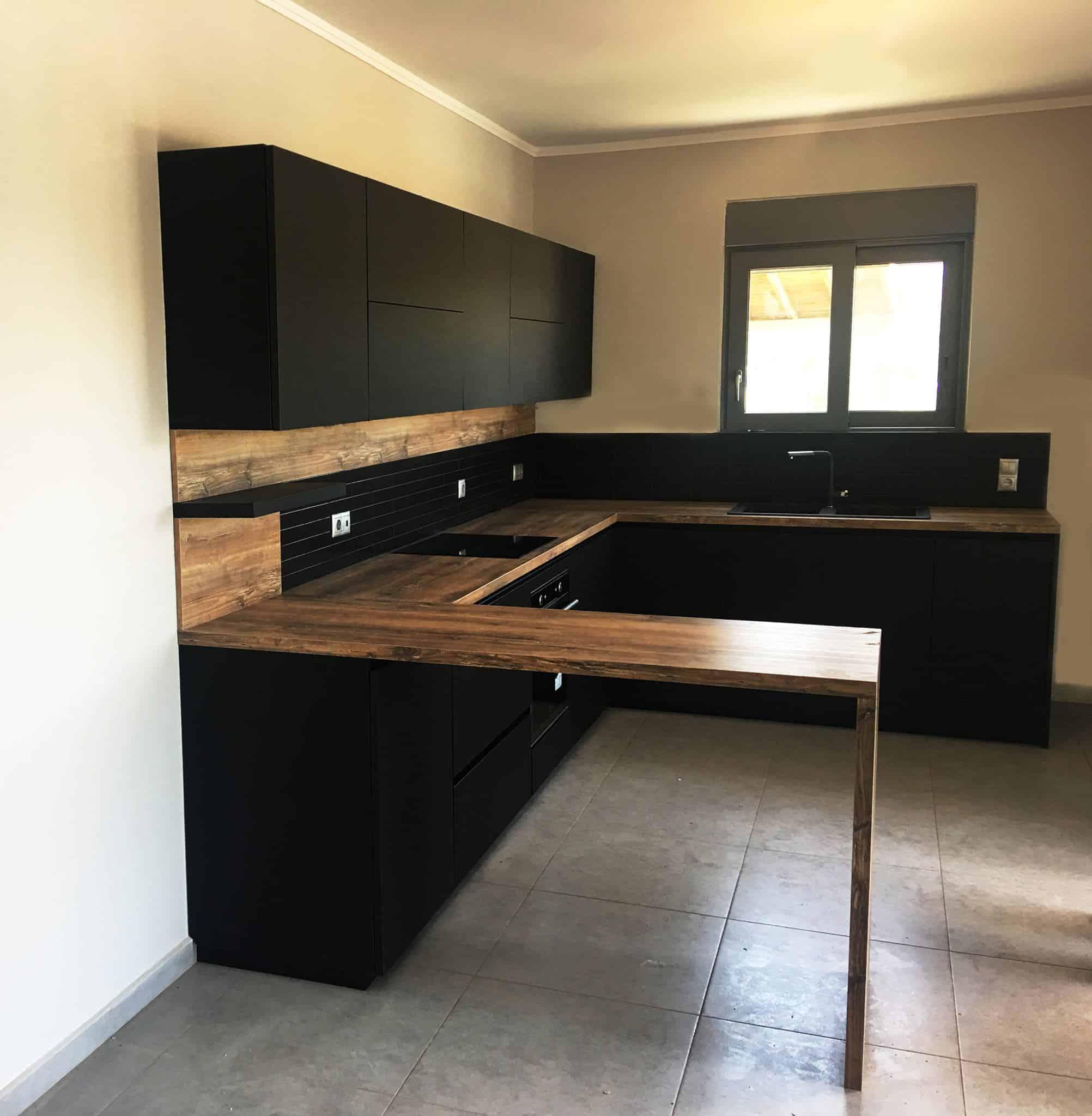 Επιπλα Κουζινας Fenix Nero NTM® 1
