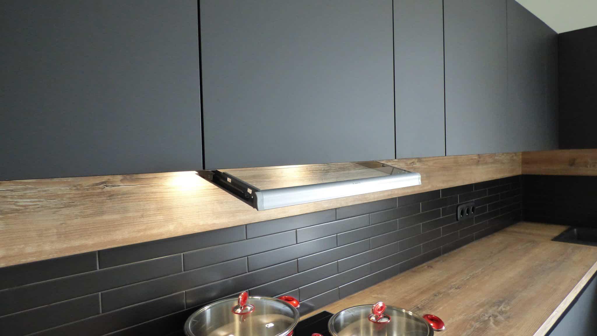 Επιπλα Κουζινας Fenix NTM® nero ingo 17