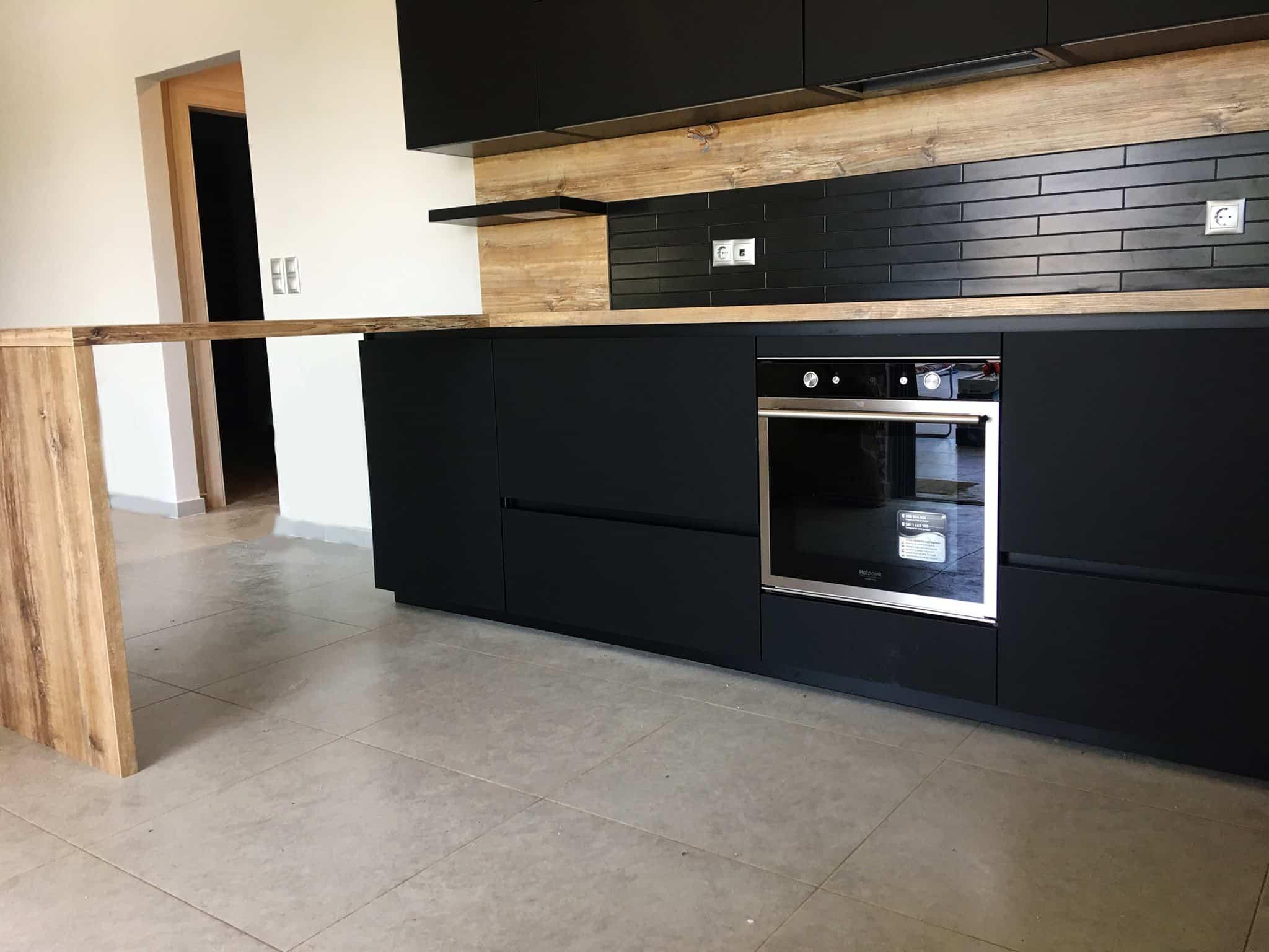 Επιπλα Κουζινας Fenix Nero NTM® 2