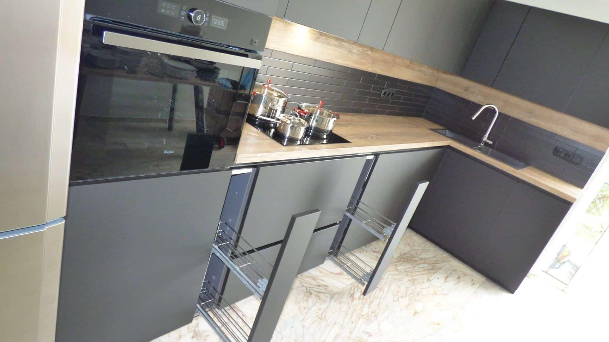 Επιπλα Κουζινας Fenix NTM® nero ingo 25