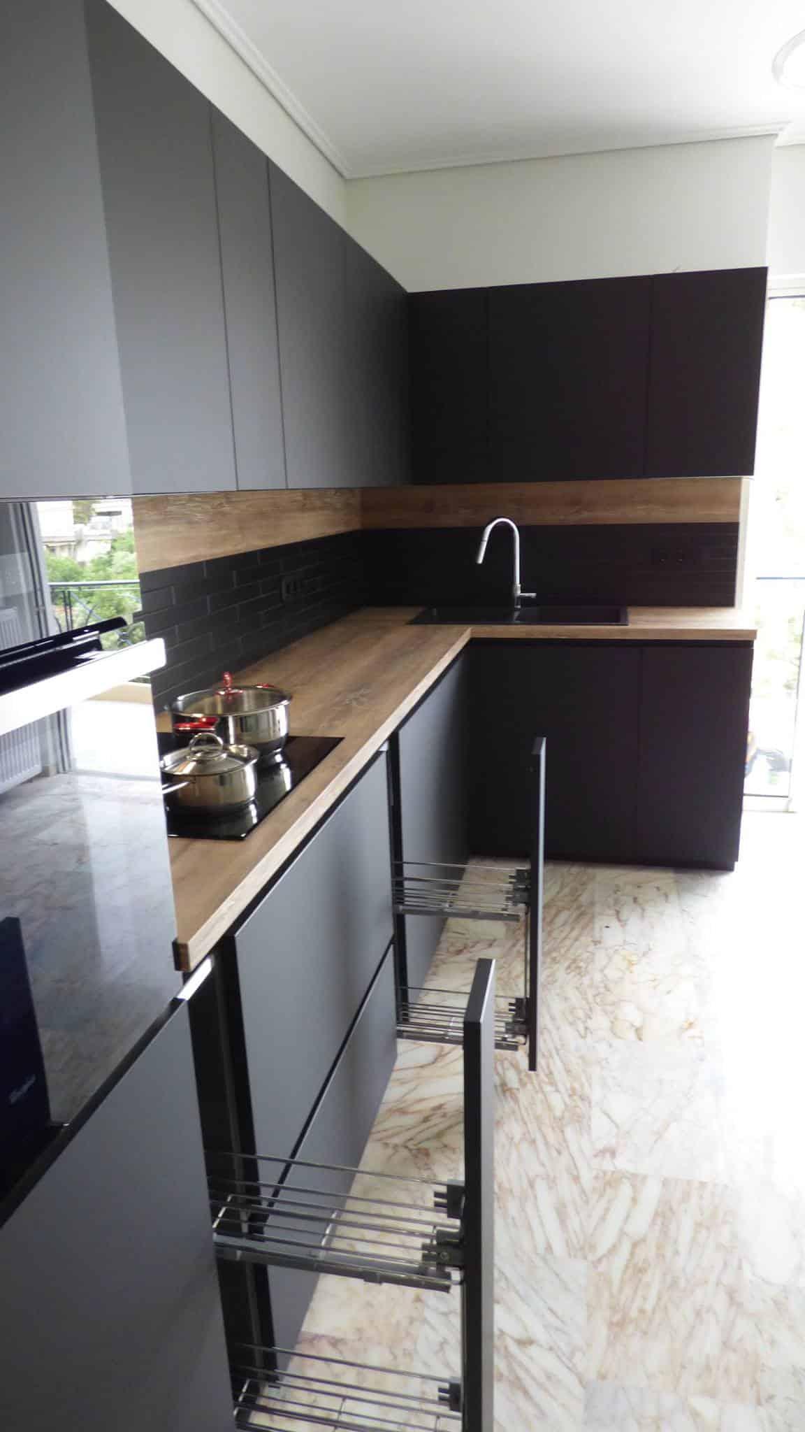 Επιπλα Κουζινας Fenix NTM® nero ingo 26