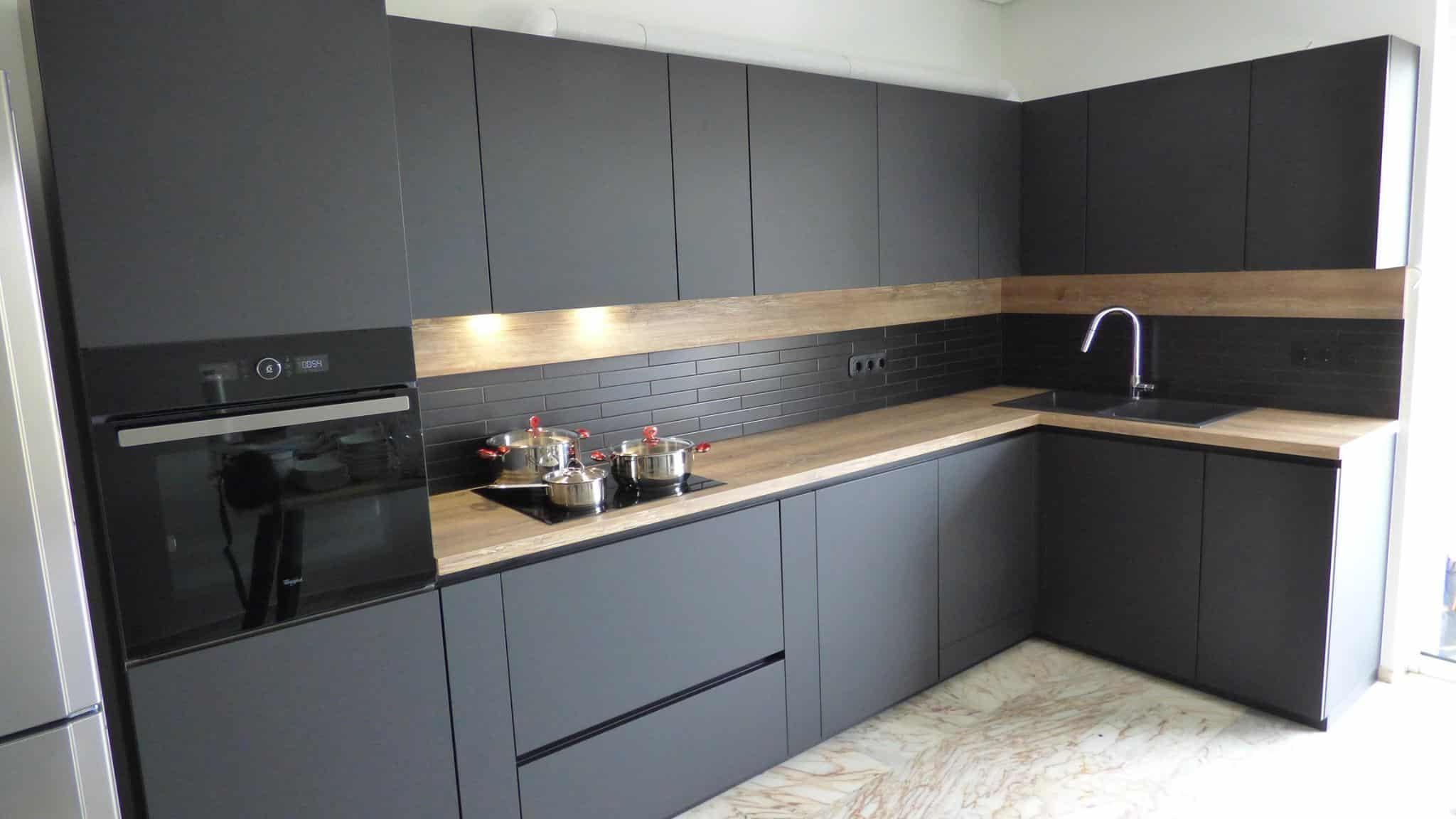 Επιπλα Κουζινας Fenix NTM® nero ingo 3